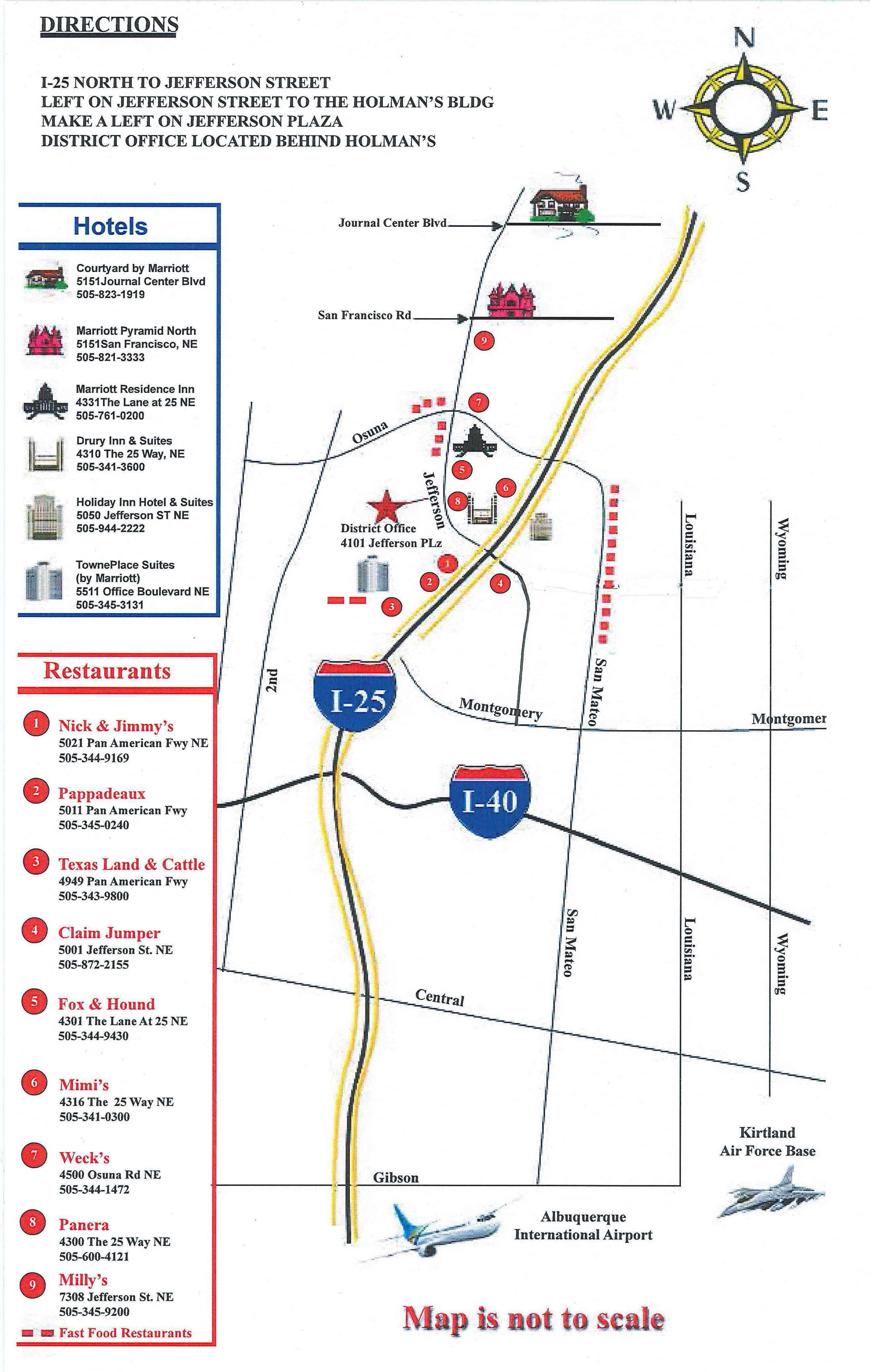 Albuquerque District Cqm Information