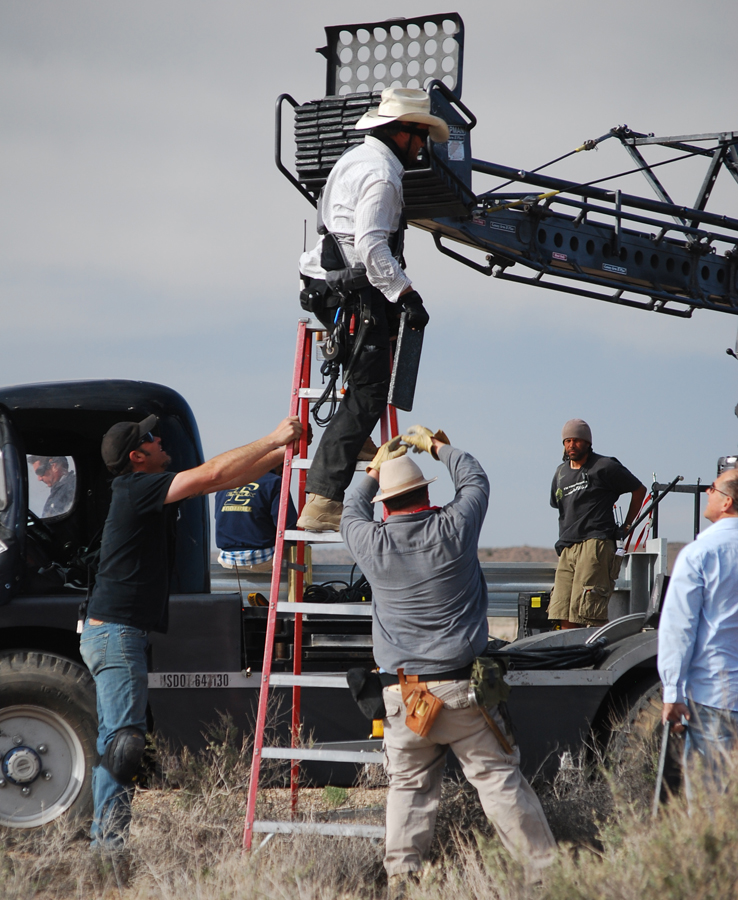 Filming in New Mexico
