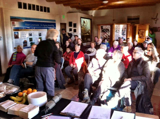 Volunteers for the 2014 Annual Eagle Watch at Abiquiu Lake, N.M.