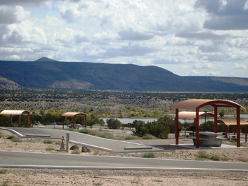 Cochiti Lake campground