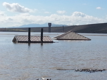 Flooding at Cochiti Lake